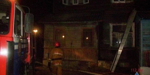 При пожаре в Лиде погиб 56-летний мужчина