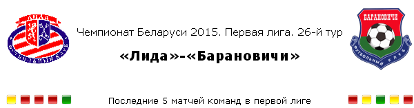 Превью матча 26-го тура «Лида»-«Барановичи»