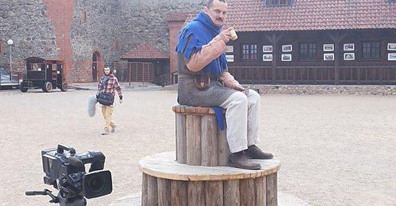 """Фотофакт: """"Беларусьфильм снимает фильм о жизни лидского замка"""""""
