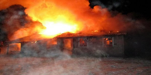 Пожар на хуторе Радивонишки