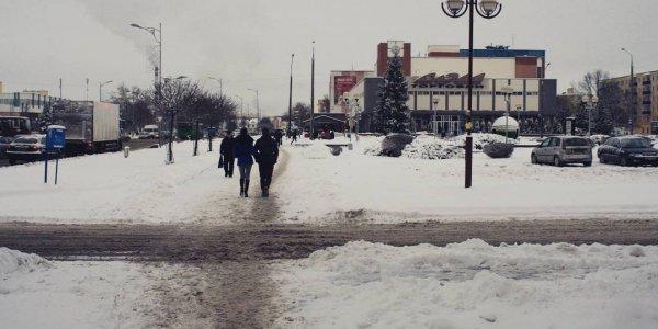 "Зима в городе Лиде. Циклон ""Даниелла"""