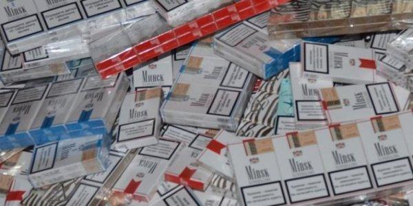 "Контрабанду сигарет предотвратили в пункте пропуска ""Бенякони-2"""
