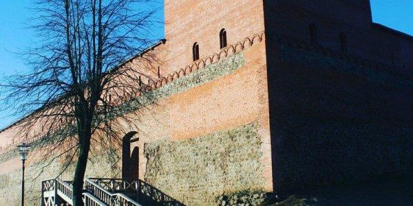 Замок Гедимина в городе Лиде