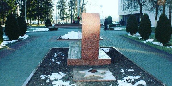 """Памятник воинам - """"афганцам"""" в городе Лиде"""