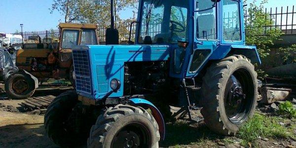 Угон трактора в Лидском районе