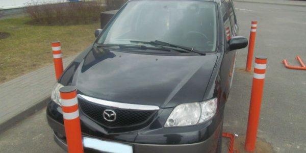 """Литовец """"нашпиговал"""" Mazda более чем двумя тысячами лезвий"""