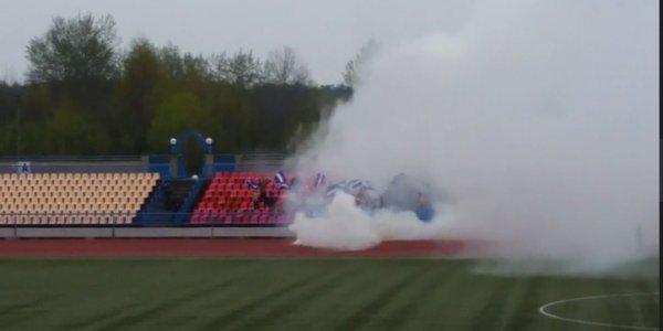 В Лиде задержали около 20 фанатов ФК «Днепр»