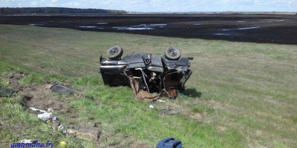 На трассе М6 Volkswagen с пьяной компанией на огромной скорости протаранил УАЗ c военными