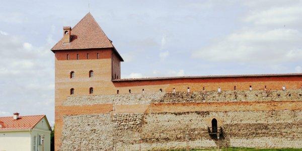 Фотографии лидского замка (Лето)