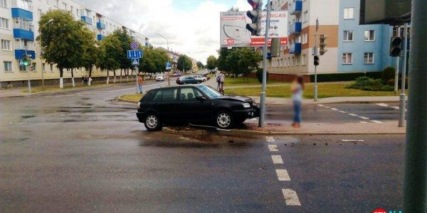 Небольшая авария на проспекте Победы (Видео)