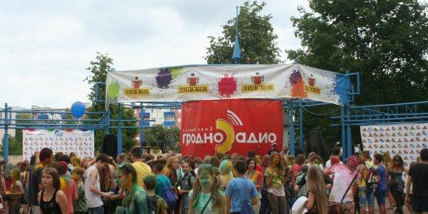 Фестиваль красок ColorFest в лиде