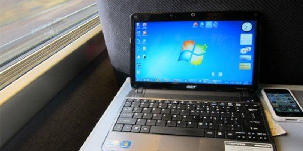Мужчина из Лиды в поезде украл у девушки ноутбук