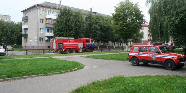 Мелкое задымление квартиры по улице Мицкевича в Лиде (Фото)