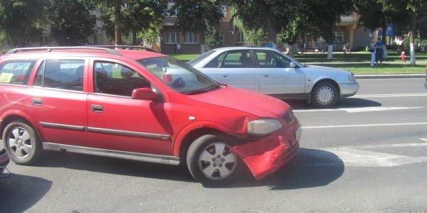 ДТП при перестроении автомобиля в Лиде (Фото)