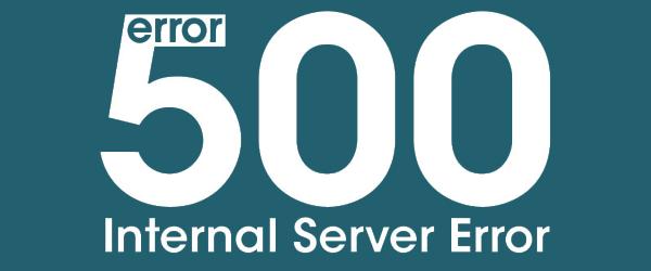Ошибка 500 internal server error на вашем сайте