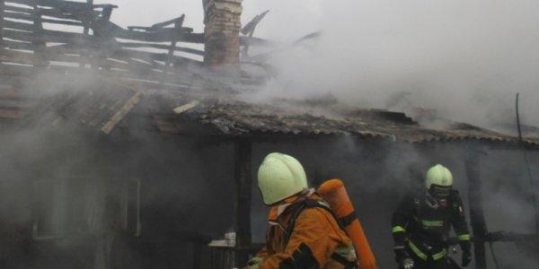 На пожаре в Лидском районе погиб 50-летний мужчина (Видео)