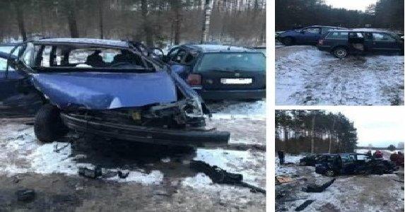Под Лидой при лобовом столкновении пострадали водитель и пассажир