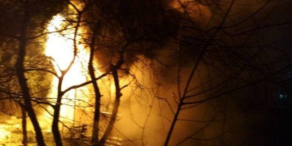 В Лиде горел цех автосборочного предприятия «Неман»