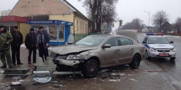 Пенсионерка на Запорожце, не пропустила Volkswagen