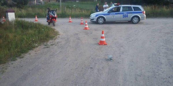 В Лиде вечером 27 июня травмировался скутерист.
