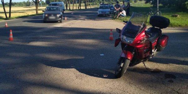 ДТП с участием мотоцикла «Хонда» возле Лиды