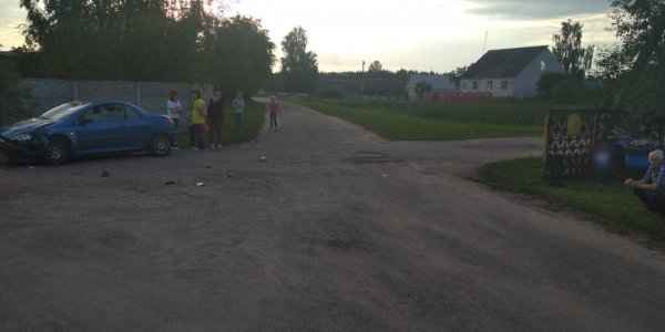 ДТП с участием мототранспорта произошло вчера в Лидском районе