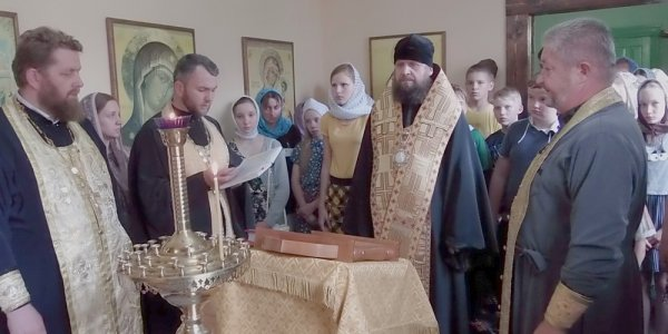 Епископ Порфипий принял участие в слете православной молодежи