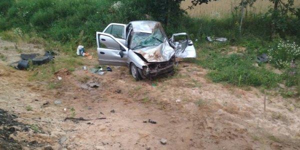 Четыре раненых в одной аварии в Лидском районе