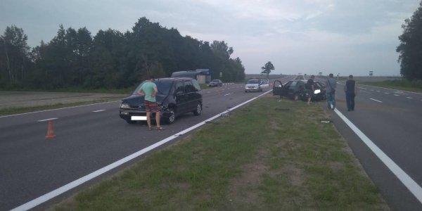 Столкновения авто в Щучинском районе