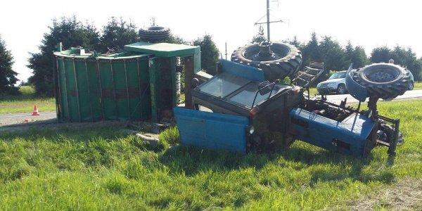 Происшествие с тракторами случилось вчера в Дятловском районе