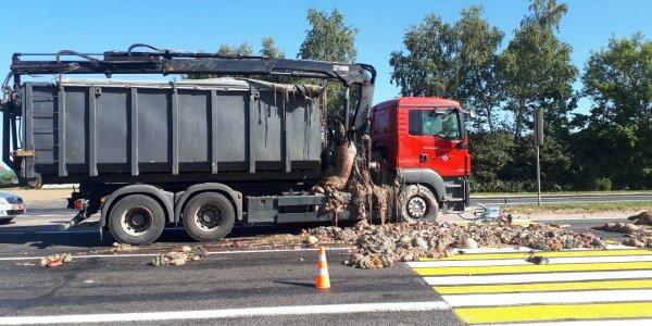 На автодороге «Минск-Гродно» грузовик при движении со стороны Скиделя в направлении Песчанки травмировал велосипедистку