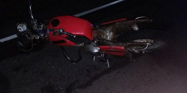 В Березовке насмерть разбился мотоциклист, его пассажирка в реанимации