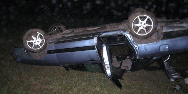Опрокидывания автомобиля со смертельным исходом в Ивьевском районе