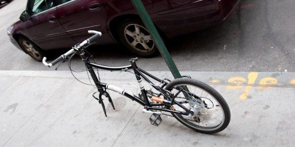 Житель города Лида подозревается в краже велосипедного седла и переднего колеса