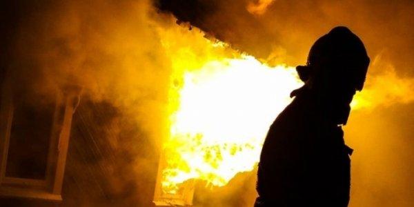 В Лидском районе сгорел дом