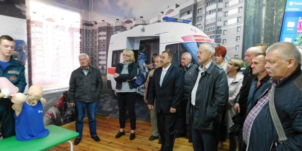 Ветераны посетили областной Центр безопасности в Лиде