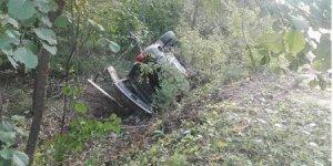Под Новогрудком женщина без прав на Jeep, объезжая упавшее дерево, вылетела в кювет: погиб пассажир