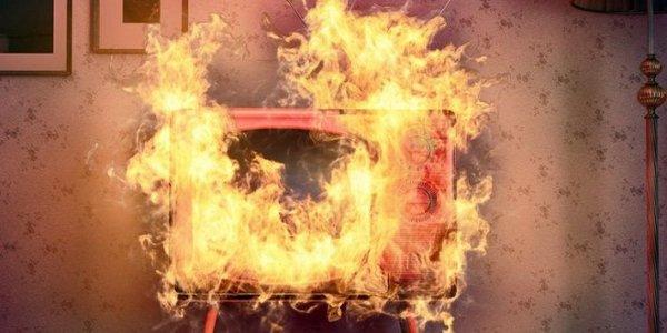 В Лиде горела квартира: виноват телевизор