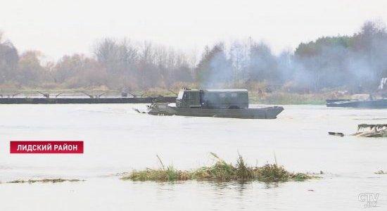 В Лидском районе проходит оперативный сбор командного состава Вооружённых Сил (Видео)