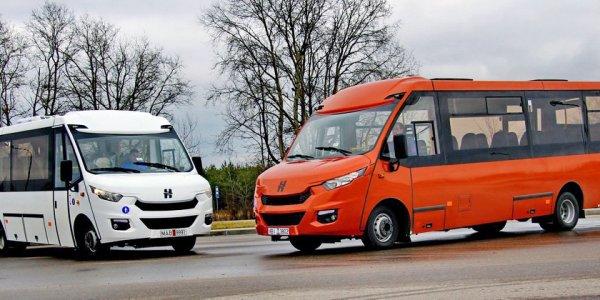 """Лидские автобусы """"Неман"""" побывали на выставке Busworld Russia"""
