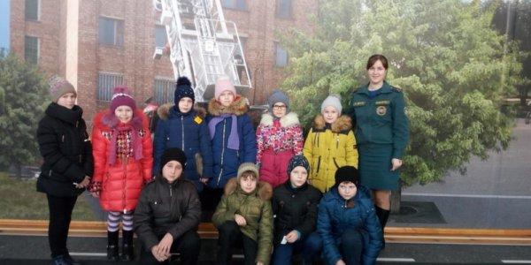 Юные спасатели из школ Лидского района посетили областной Центр безопасности МЧС