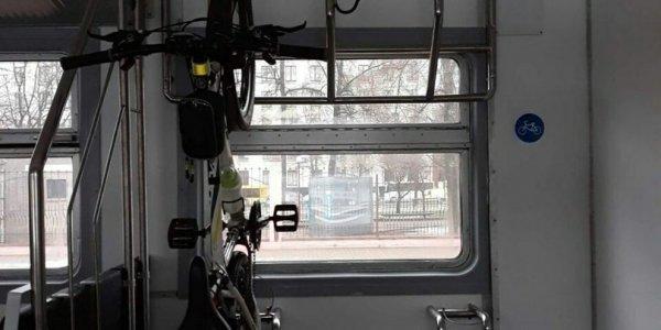 Лидские поезда оборудуют легальными местами для велосипедов