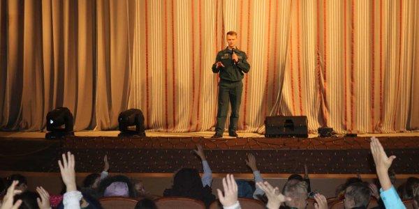 Для юных Лидчан выступали артисты Гродненского областного театра кукол