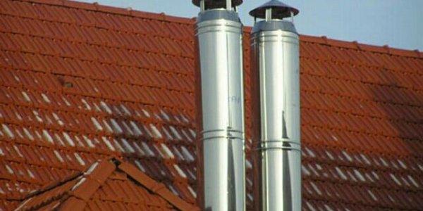 Одностенные и двустенные дымоходные трубы (Sandwich трубы)