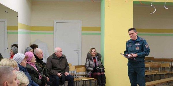 В агрогородке Минойты Лидского района состоялся сход граждан