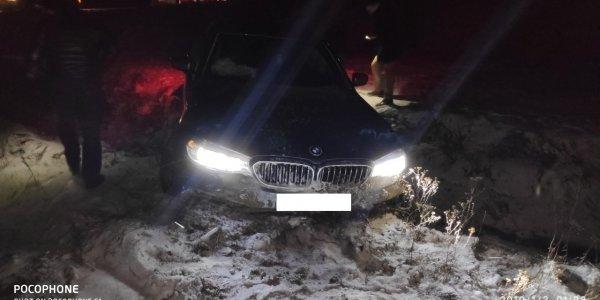 В Лидском районе москвичи на BMW 2018 года попали в ДТП