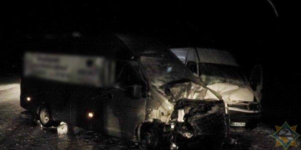 В Лидском районе женщину зажало в микроавтобусе: ее спасли работники МЧС