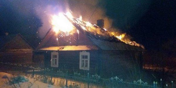 Житель Лиды инсценировал поджог своего дома ради страховки