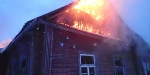 Произошел пожар в жилом доме в Лидском районе