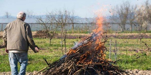 В Лидском районе при сжигании мусора на приусадебном участке мужчина получил ожоги